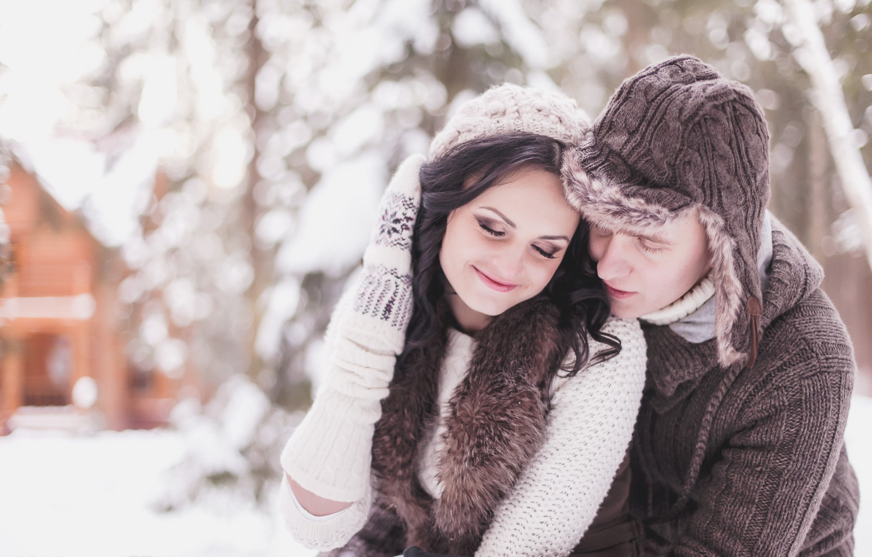 Картинки двое зима